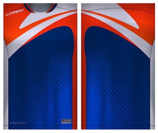 Sport t-shirt for soccer Premium Vector
