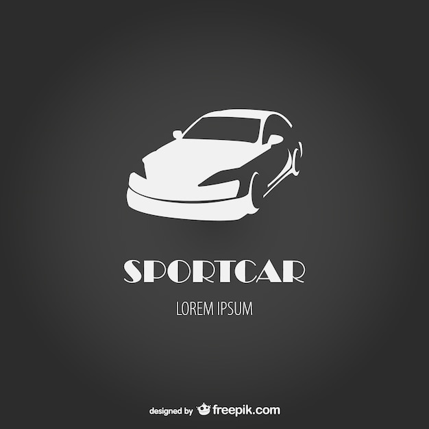 Sportcar Logo Vector Free Download