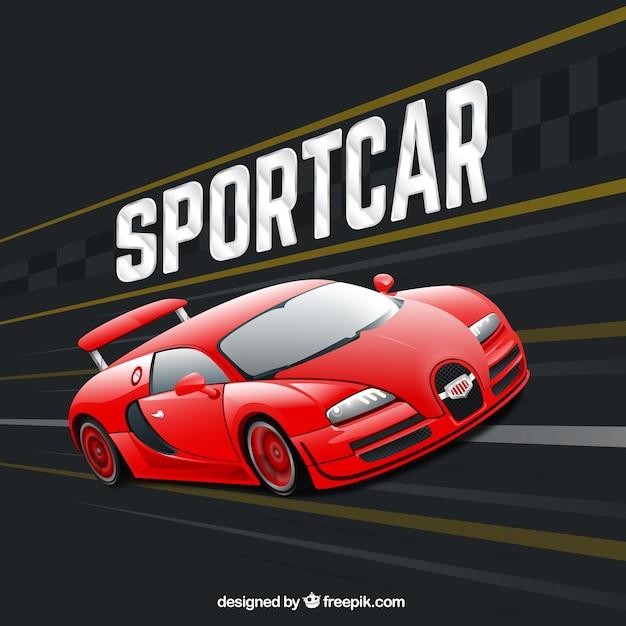 Sportcar 無料ベクター