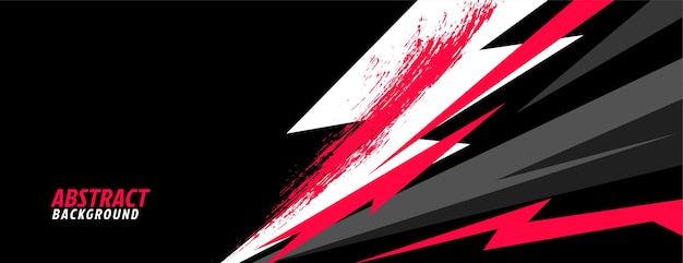 Sports in abstract geometric shapes style Free Vector