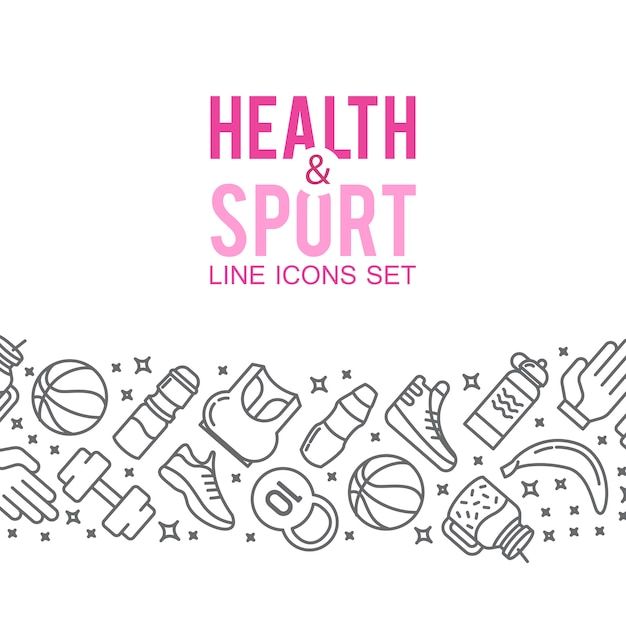 Sports icons. Sport concept, background. Icons\ sports games