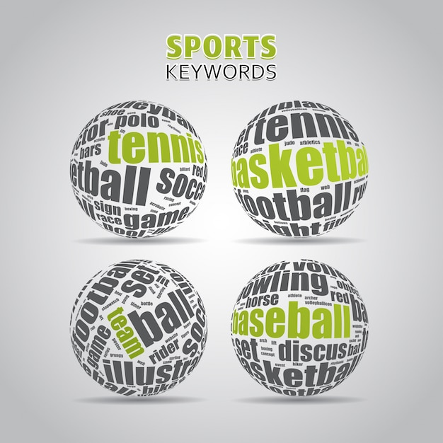 Sports keywords