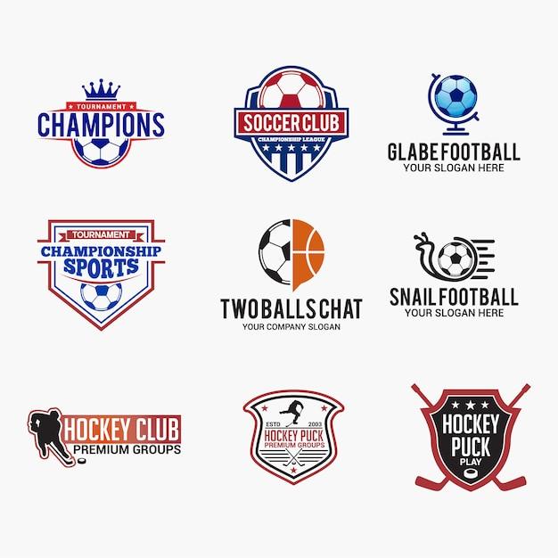 Sports logo Premium Vector