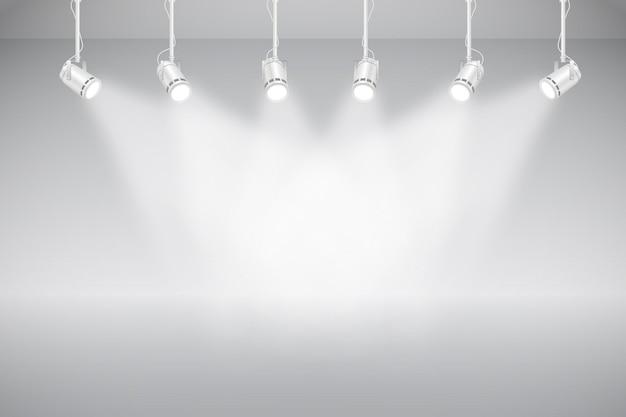 Точечный свет фон Бесплатные векторы