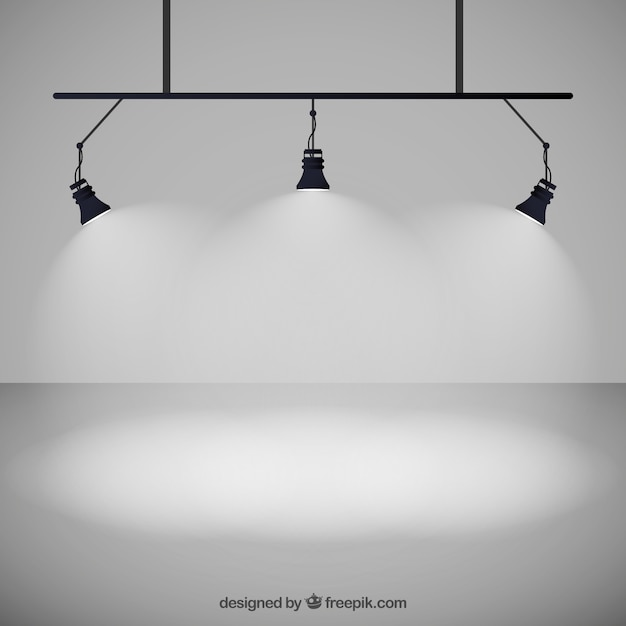 spot lights vector free download. Black Bedroom Furniture Sets. Home Design Ideas