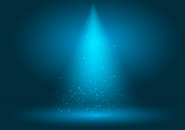 Прожекторный фон дисплея Бесплатные векторы
