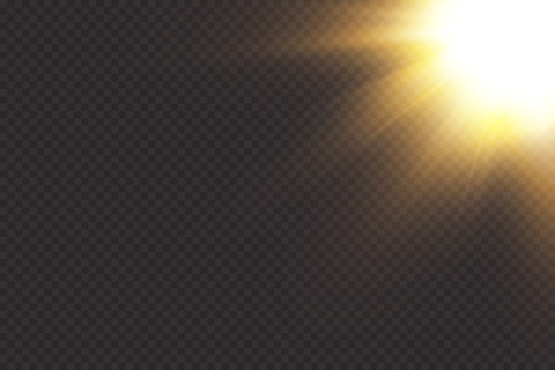 Spotlight. light effect. Premium Vector