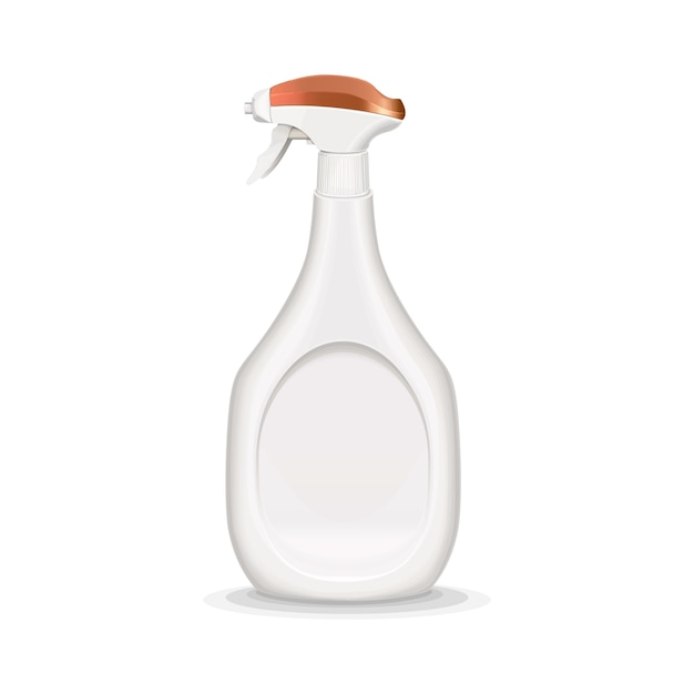 Spray bottle realistic illustration Free Vector