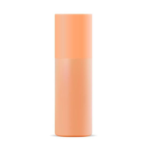 Spray tin of aerosol Premium Vector