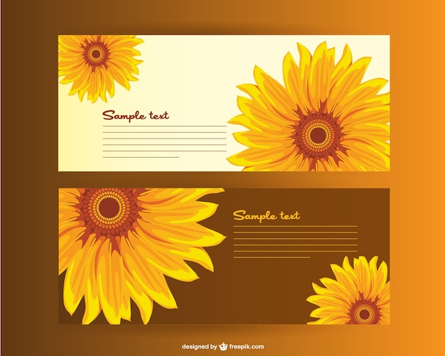 Sunflower Vector Vectors, Photos and PSD files | Free Download