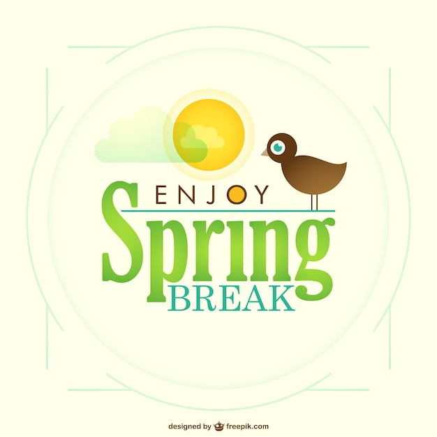 spring vacation clipart - photo #33