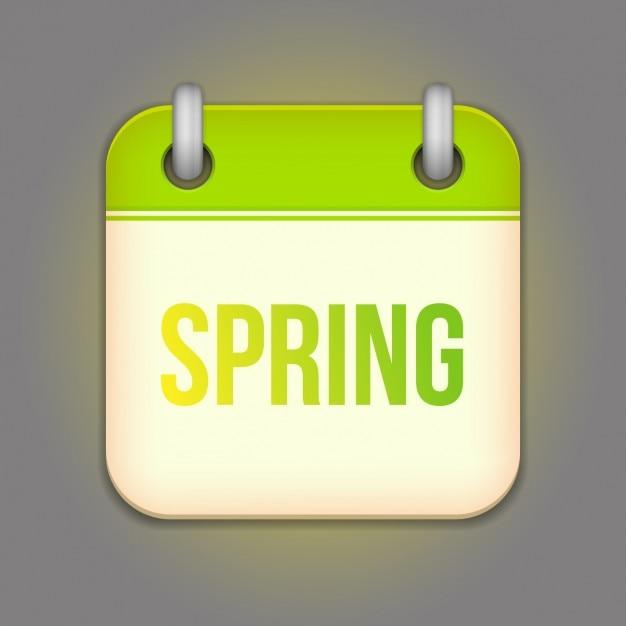Calendar Design Free Vector : Spring calendar design vector free download