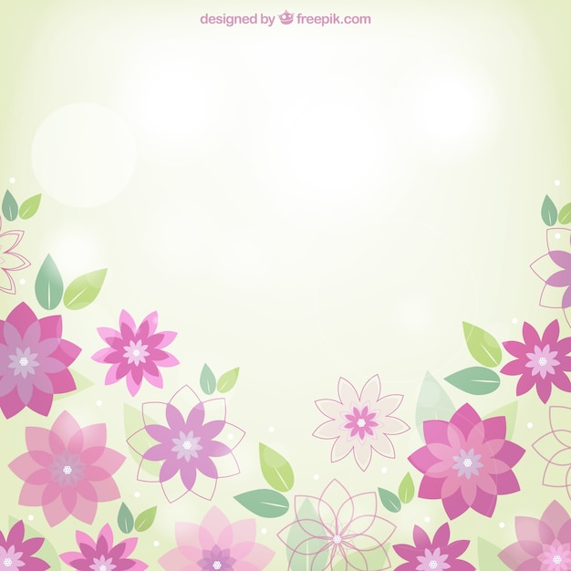 Spring flowers background vector free download spring flowers background free vector mightylinksfo