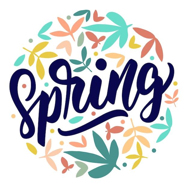 Image result for spring lettering