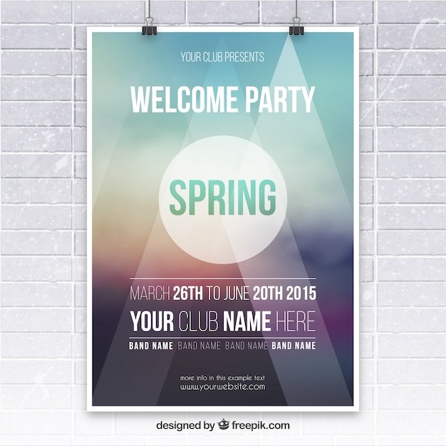 Summer party poster design vector premium download - Event Poster Vectors Photos And Psd Files Free Download