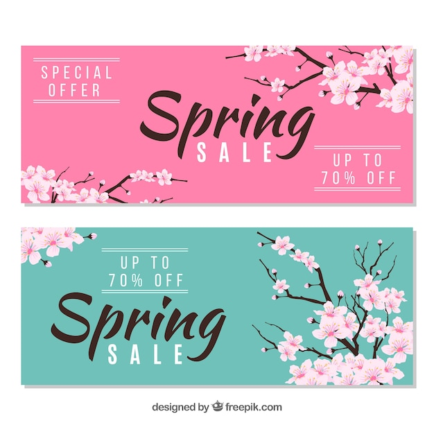 Spring Sale: Bloom Vectors, Photos And PSD Files