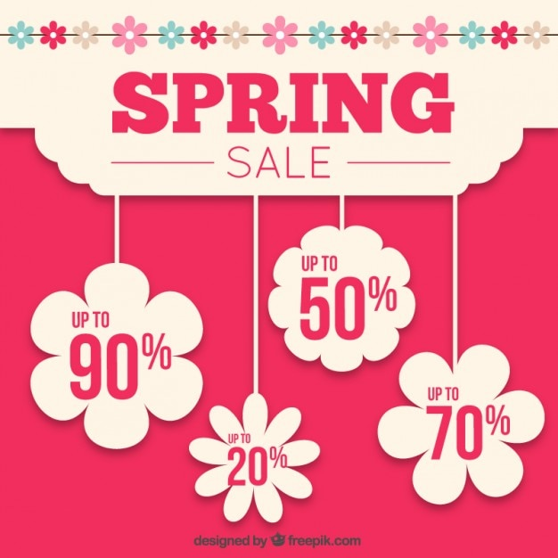Spring Sale: Spring Sale Vectors, Photos And PSD Files