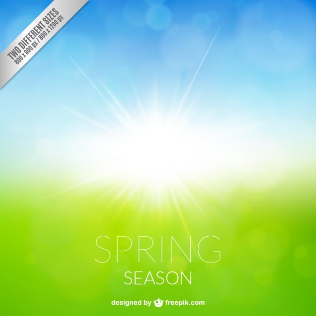 Spring season background