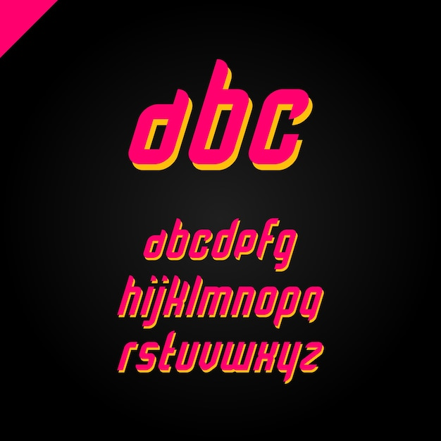 Font vectors photos and psd files free download square alphabet simple font and letter set publicscrutiny Gallery