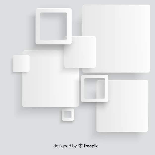 Square background Free Vector