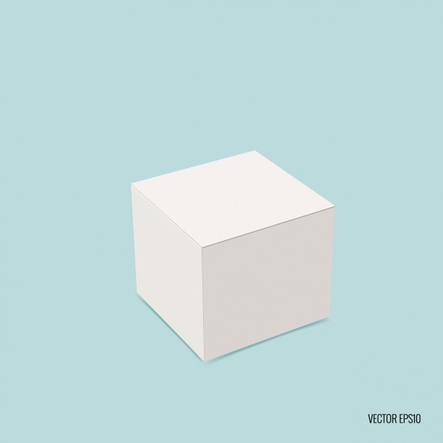 square blank box vector free download