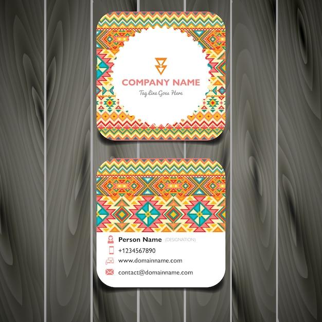 Square embroidery business card vector premium download square embroidery business card premium vector colourmoves Choice Image