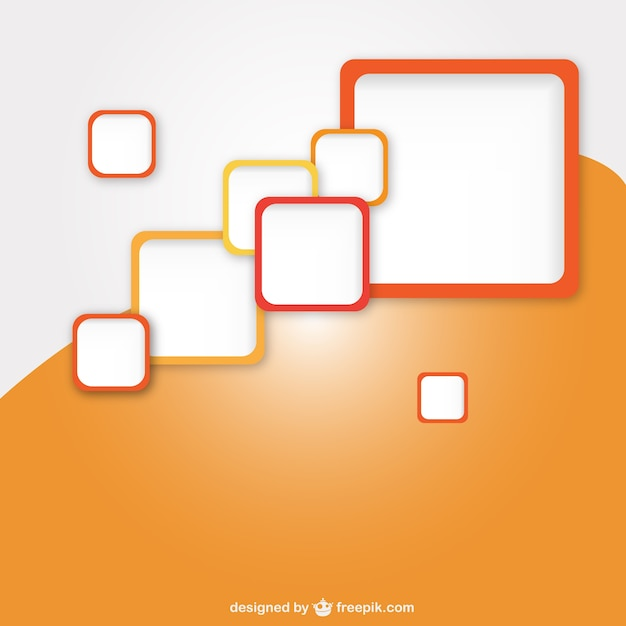 Squares Background Free Vector Square Orange Background Free