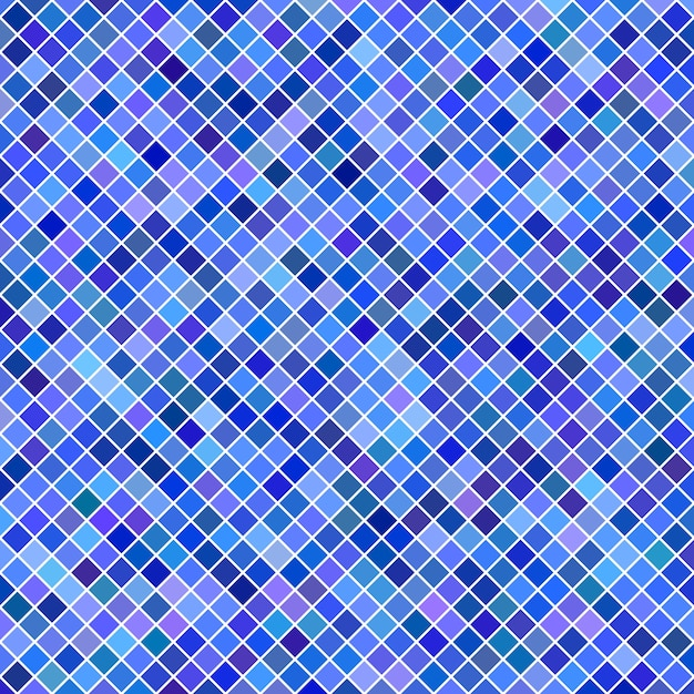 Aninimal Book: Square pattern background - geometric vector graphic from diagonal squares in blue ...