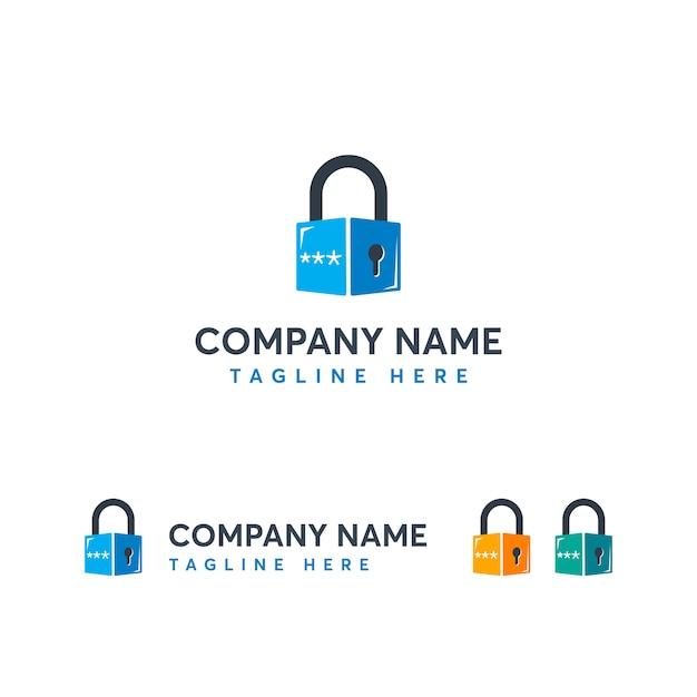 Srcurity logo template Premium Vector