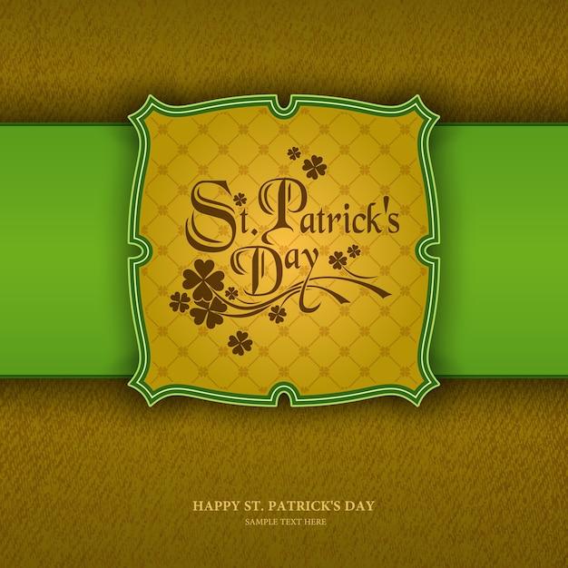 St. patrick's day background,  seamless wallpaper pattern Premium Vector