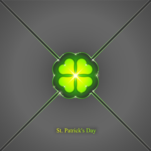 St. patrick's day background,  seamless wallpaper pattern Premium Vector