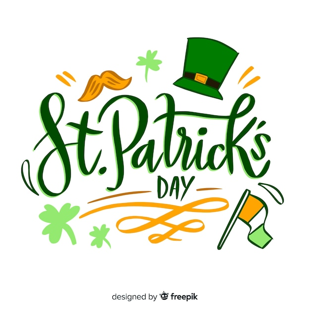 St. patrick's day Free Vector