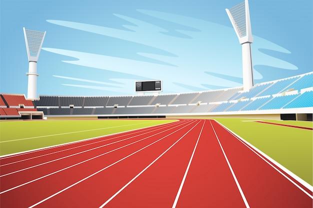 Stadium Premium Vector