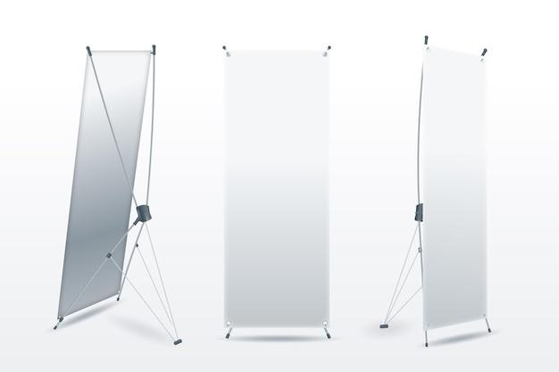 Постоянные баннеры для продвижения товаров Бесплатные векторы