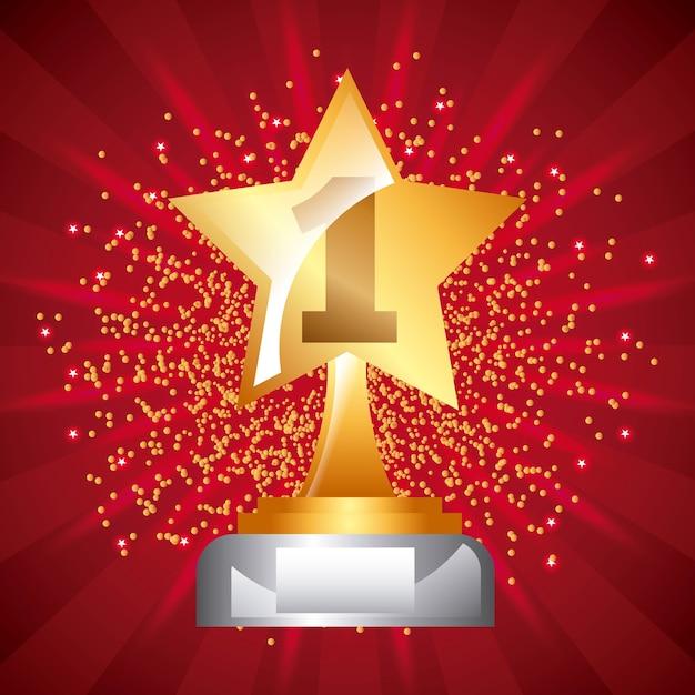 Star Award Background