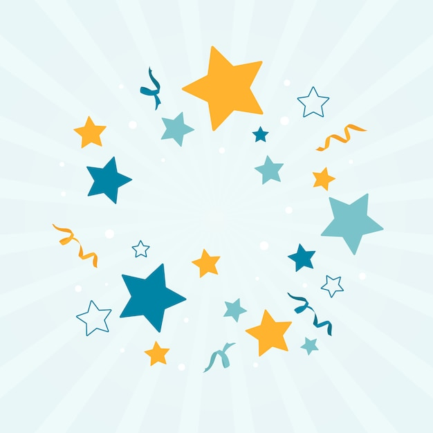Star background Free Vector