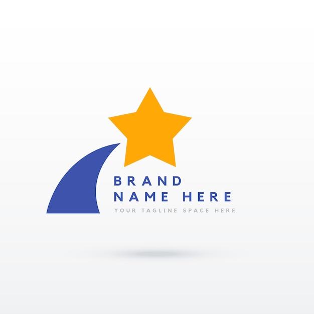 star logo design vector free download