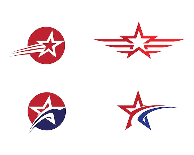 star logo template vector vector premium download