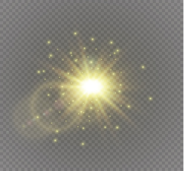 Звезда на прозрачном фоне иллюстрации Premium векторы