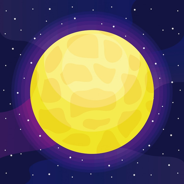 Star sun universe icon Premium Vector