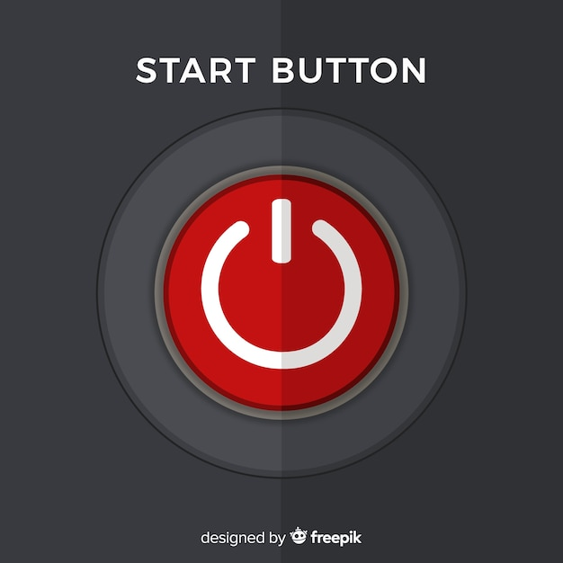 Start button Free Vector