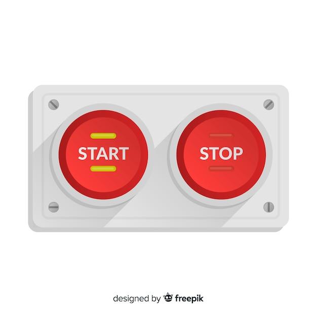 Start button Free Vector