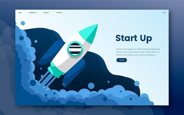 Start up informational website