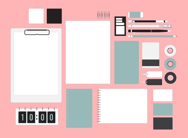 Stationary vector Free Vector