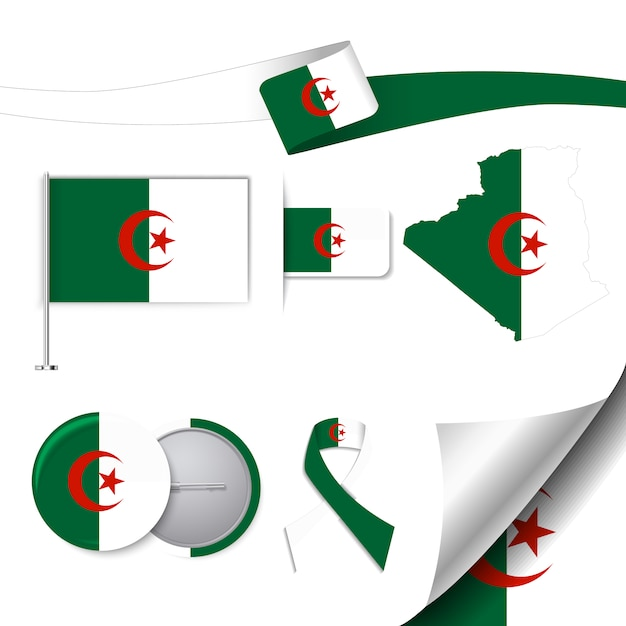 Algeria Flag Vector Free Download