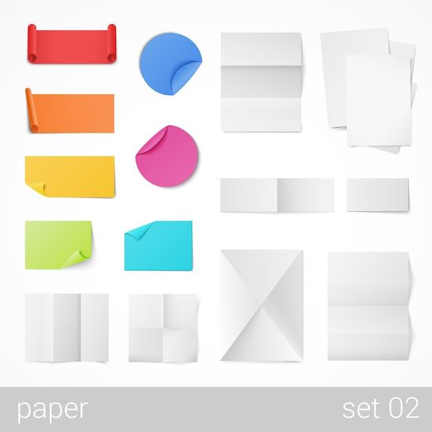 文房具の紙 Premiumベクター