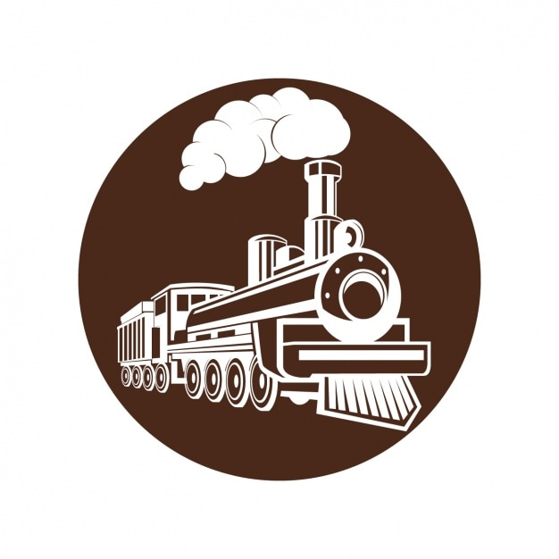 Download Free Steam Train Design Vector Freepik