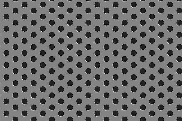 Steel grill seamless pattern Premium Vector