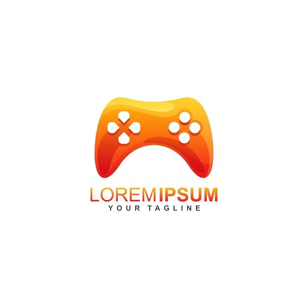 Stick game logo design Premium Vector