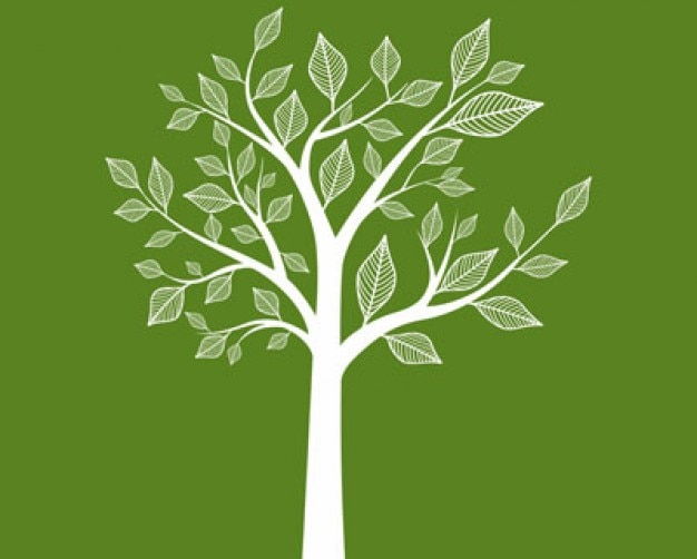 Stock abstract tree vector Free Vector